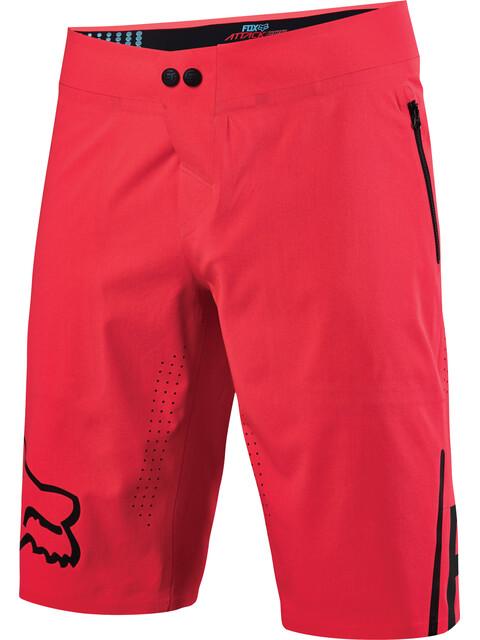 Fox Attack Pro Spodnie rowerowe Mężczyźni czerwony